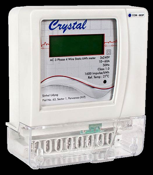 Three Phase Electric Meter